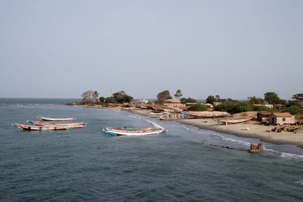 Het strand van Barra