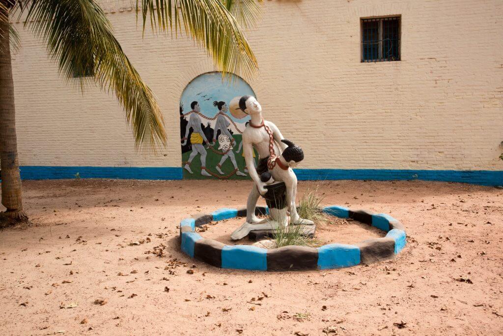 Het slavernijmuseum in Juffere