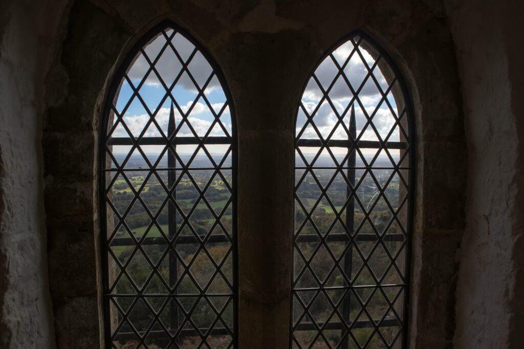 Prachtige uitzichten vanaf Leith Hill Tower