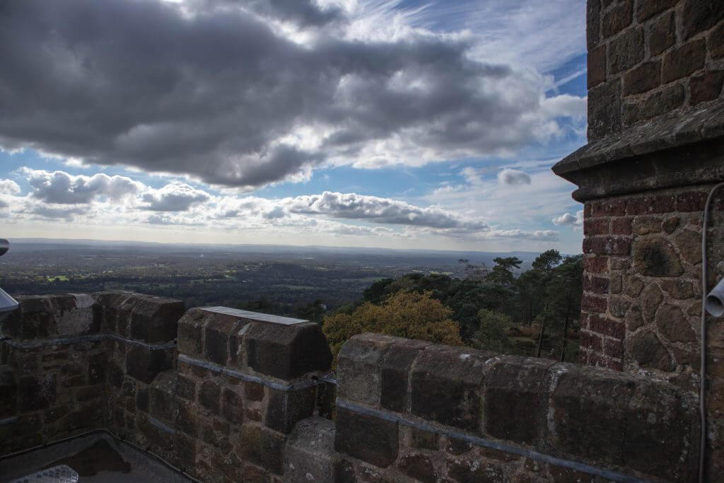 Op Leith Hill Tower