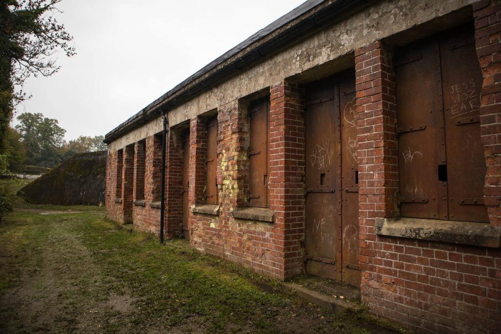 Het fort is nu verlaten en eigendom van National Trust