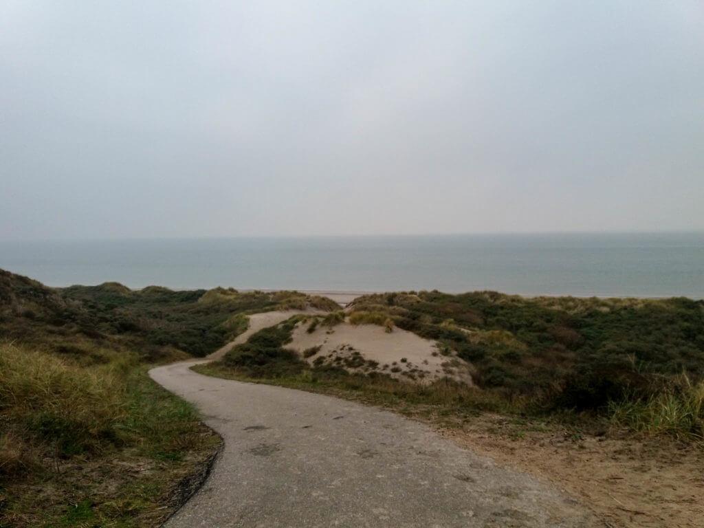Het Noordzeestrand is in zicht