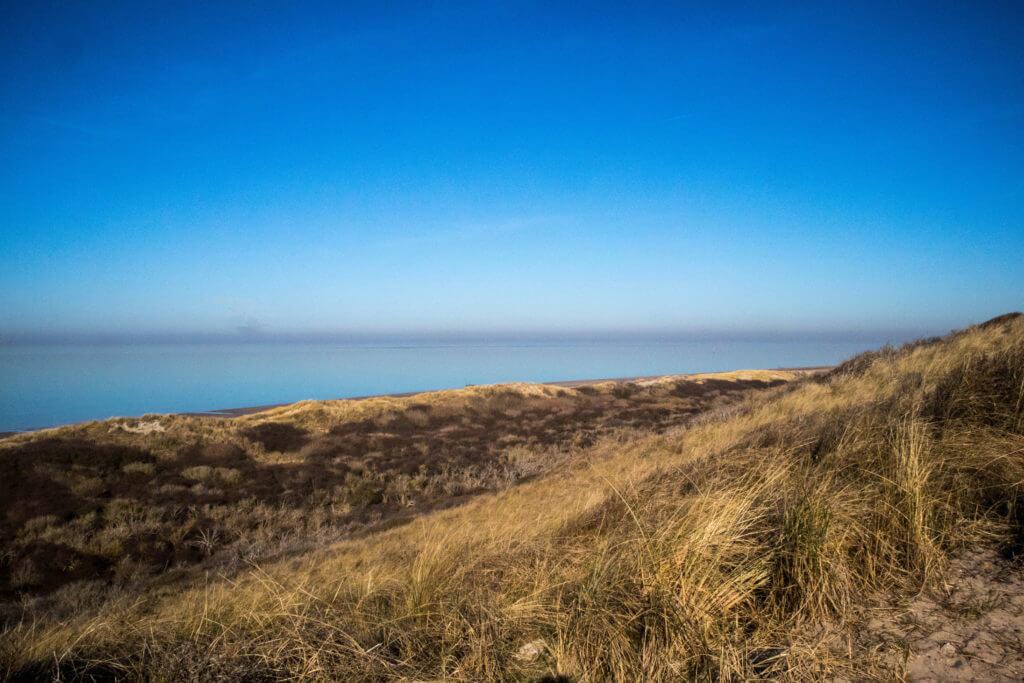 Prachtige uitzichten over de Noordzee