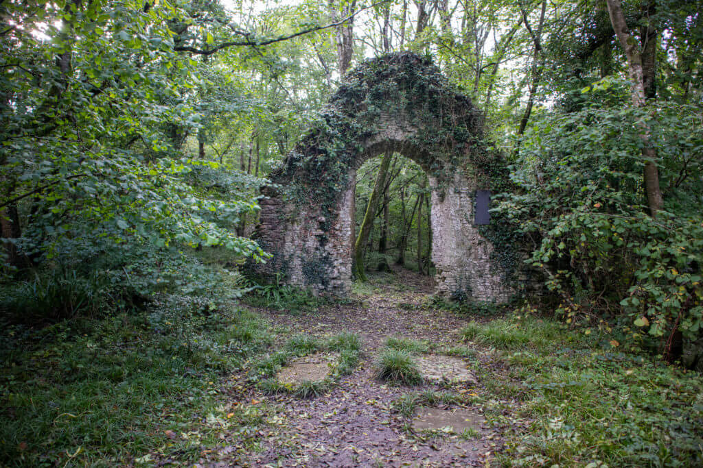 De kapel ruïne van Abbotsbury