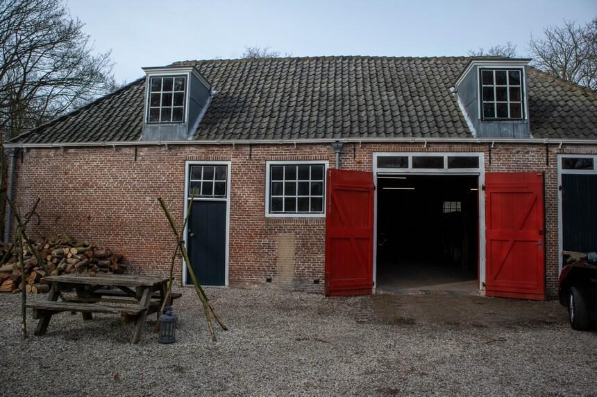 Het koetshuis van buitenplaats Berkenbosch