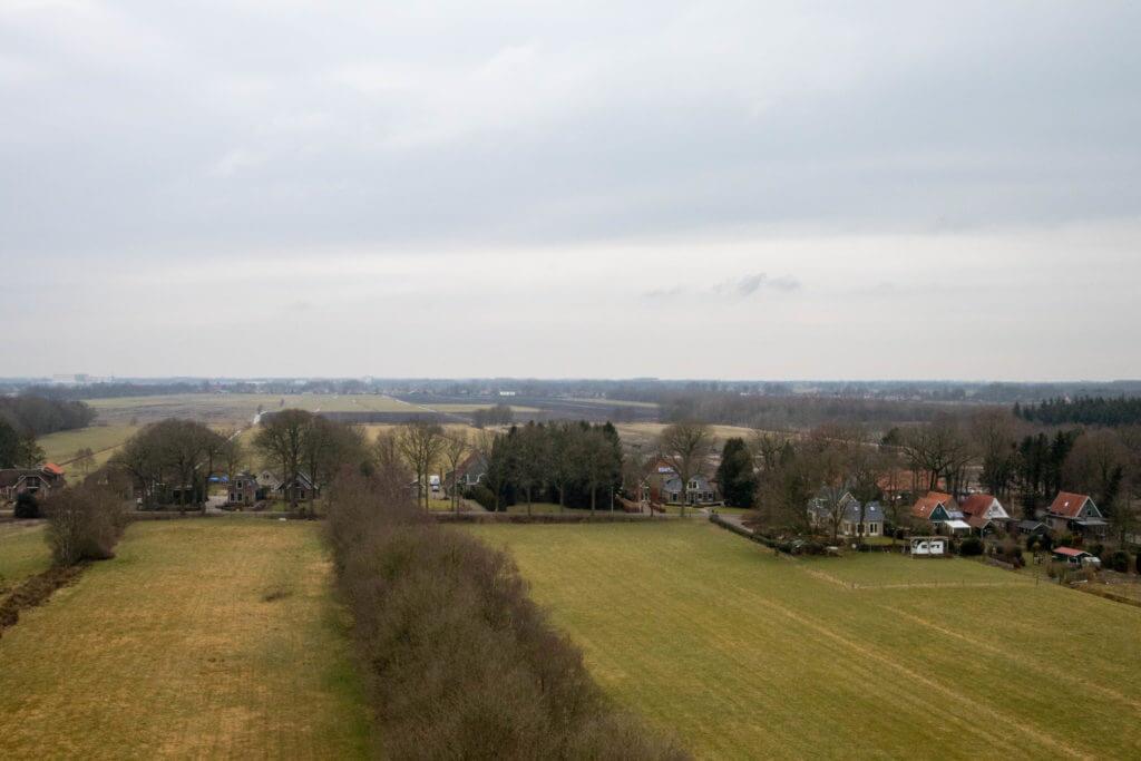 Uitzicht vanaf de Belvedère toren