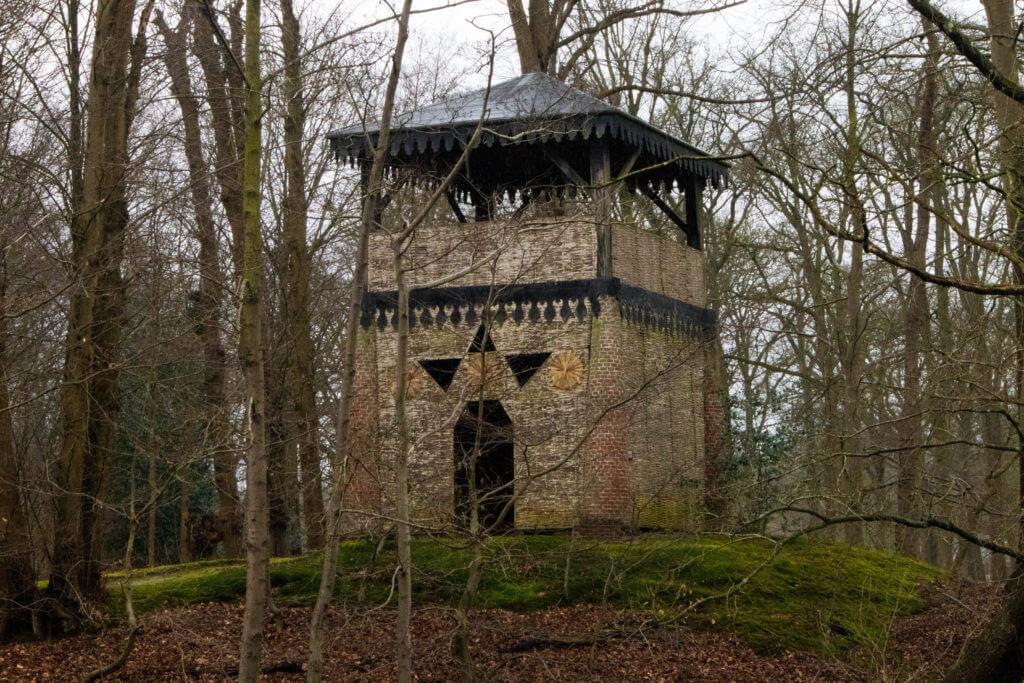 De Chinese toren van Oranjewoud