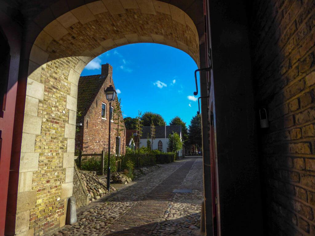 De oude poort van Boertange