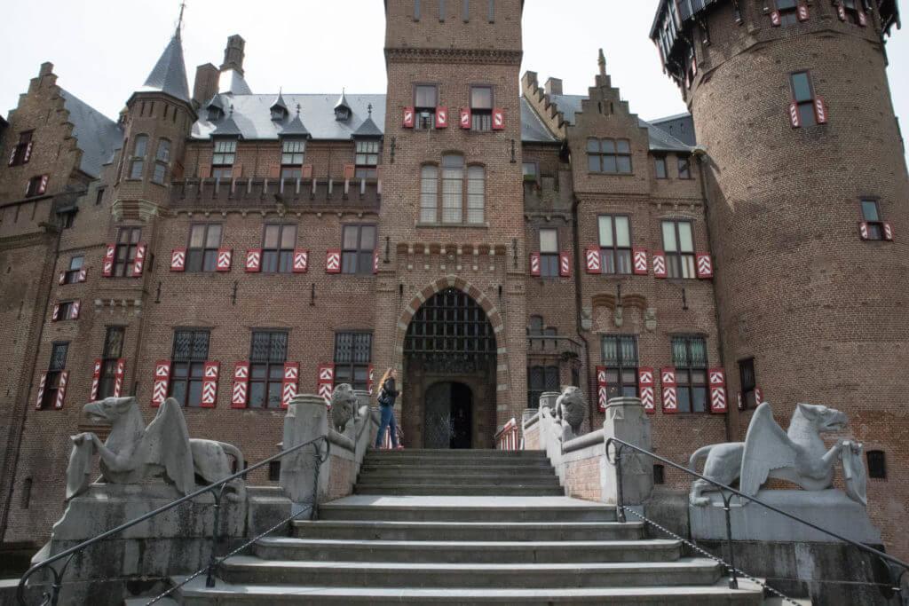 Ingang van het kasteel