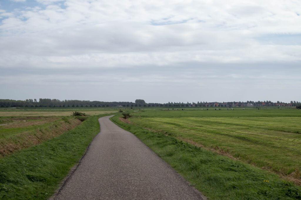Dwalen door de polder van Goedereede