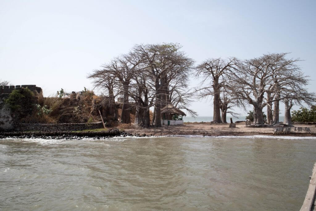 Kunta Kinteh Island, ook bekend als James Island