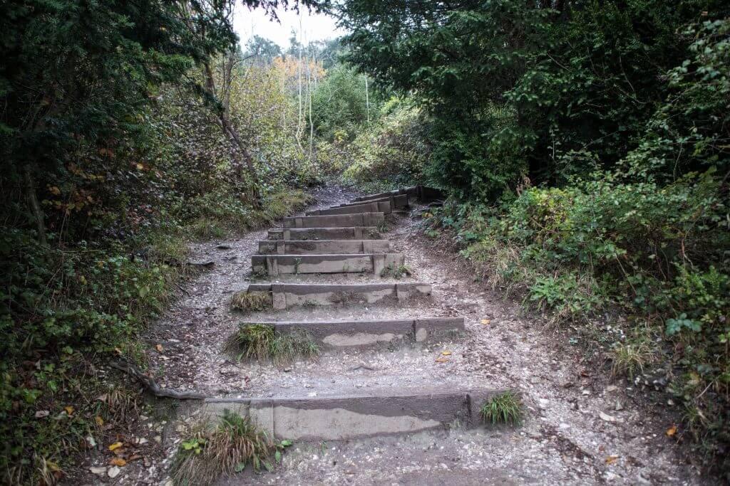Vele trappen moeten we op en af