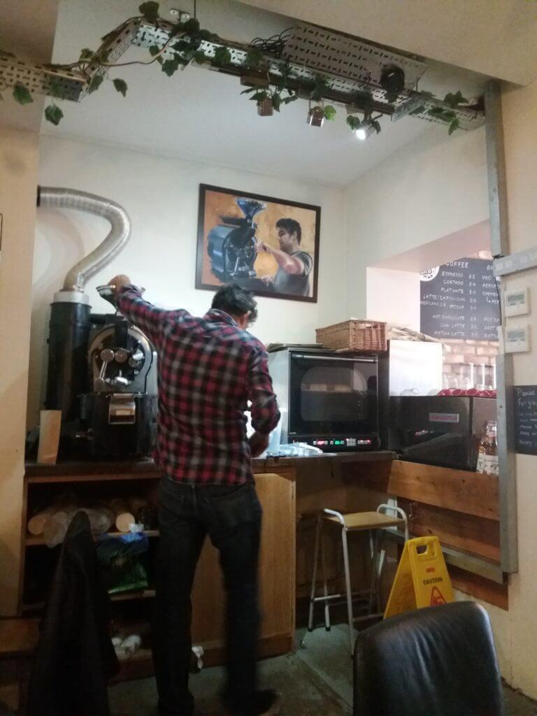 Ontbijten en koffie drinken doe je in Hitchin bij het Hitchin Coffee Lab