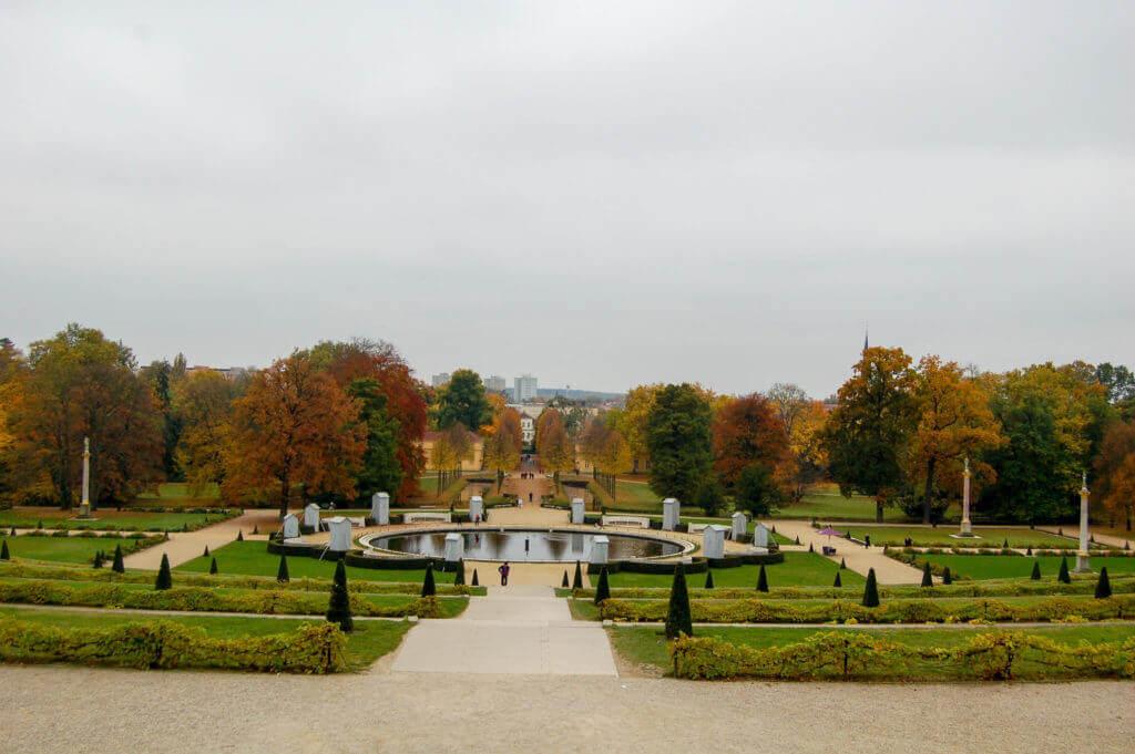 Tuin slot Sanssouci