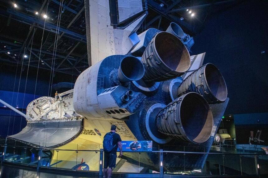 Motoren van de Atlantis
