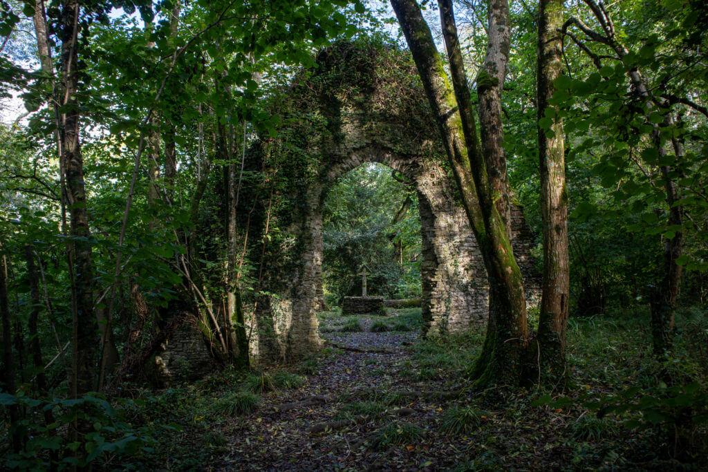 Chapel Coppiche, de ruïne van Abbotsbury