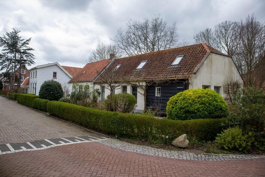 Oude huisjes in Kats