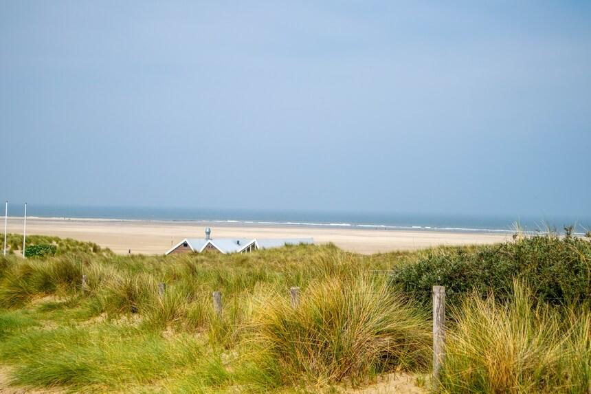 Strand bij de Vuurtoren Texel