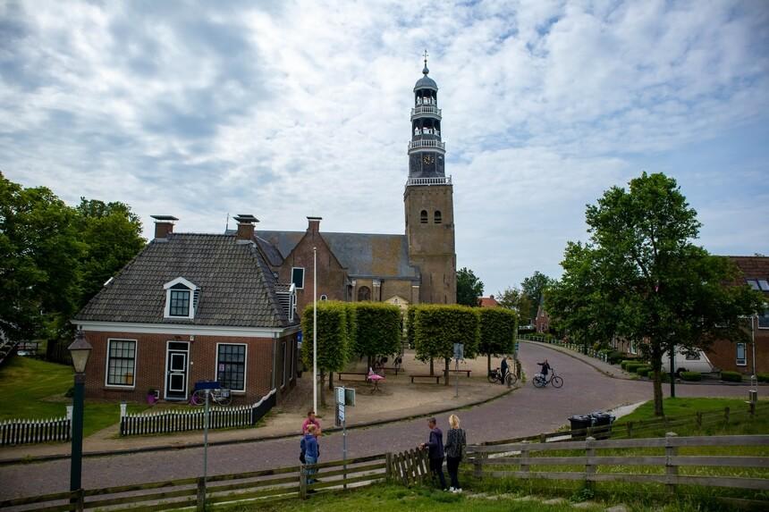 Hindeloopen scheve kerktoren