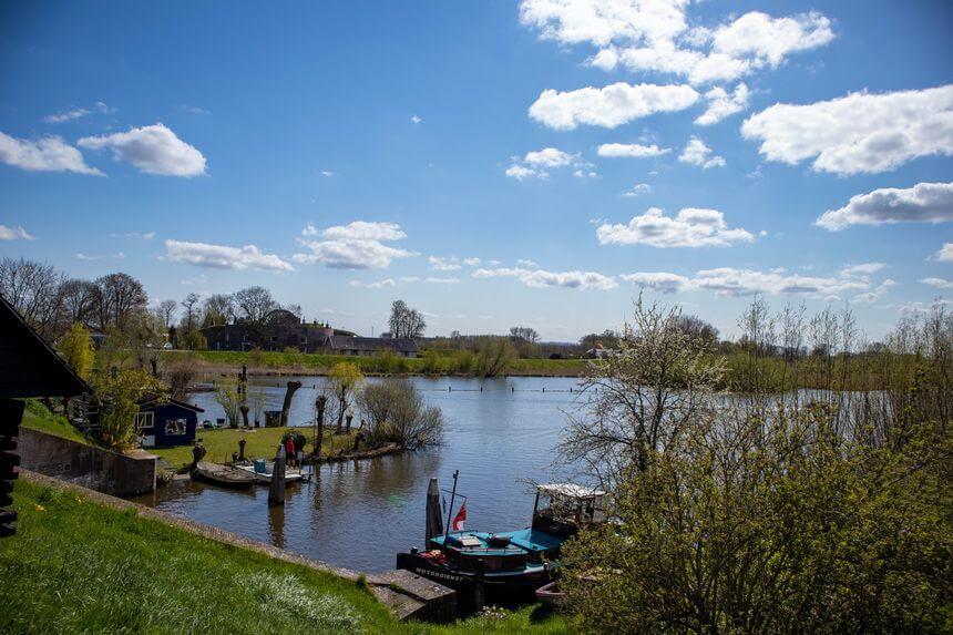 Parels langs de Linge: dubbele watersluis