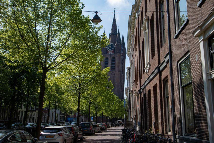 scheve toren Delft