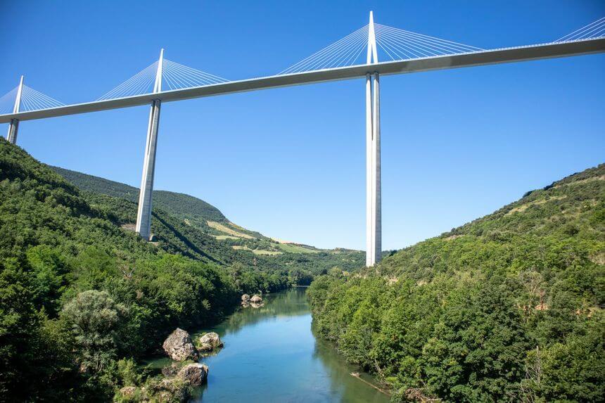 roadtrip Frankrijk Viaduc-de-Millau