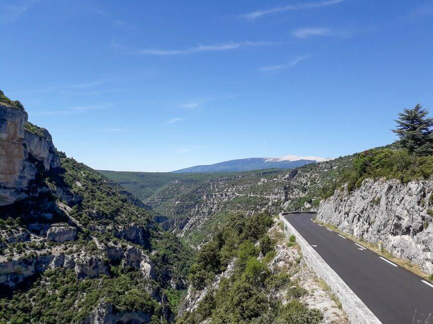 roadtrip Frankrijk Gorges de la Nesque